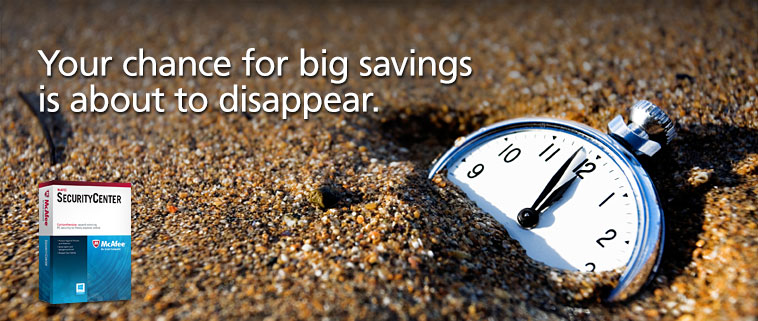 Your chance for big savings is about to disappear.