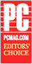 PCMag.com Editors Choice logo