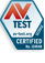 AV-testcertifierat