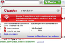 McAfee SiteAdvisor